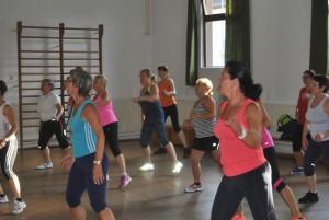damen-aerobic