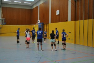 volleyball-besprechung